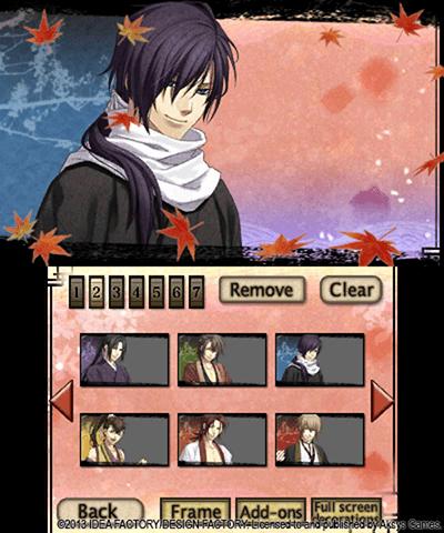Hakuoki Memories of the Shinsengumi Free eShop Download Code 4