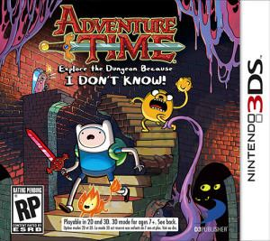 Adventure Time Explore the Dungeon Because I DON'T KNOW! free