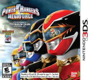 Power Rangers Megaforce Free eShop Download Code