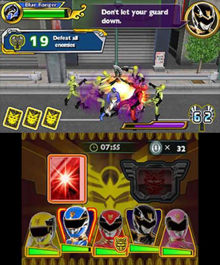 Power Rangers Megaforce Free eShop Download Code 4