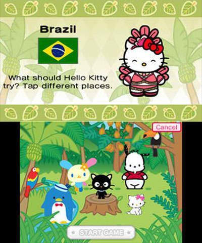 Travel Adventures with Hello Kitty Free eShop Download Code 1