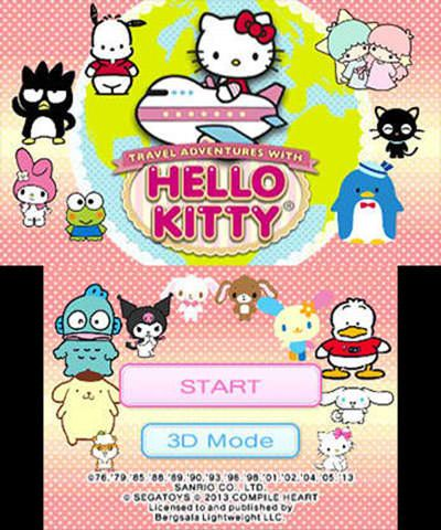 Travel Adventures with Hello Kitty Free eShop Download Code 2