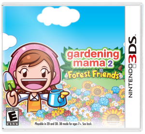 Gardening Mama 2 Forest Friends Free eShop Download Code box art