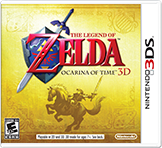 Zelda Ocarina of Time 3D Free eShop Download Code