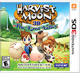 Harvest Moon The Lost Valley Free eShop Download Codes