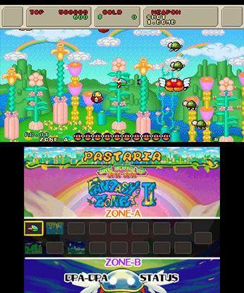 3D Fantasy Zone II W Free eShop Download Code 1