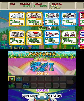 3D Fantasy Zone II W Free eShop Download Code 2