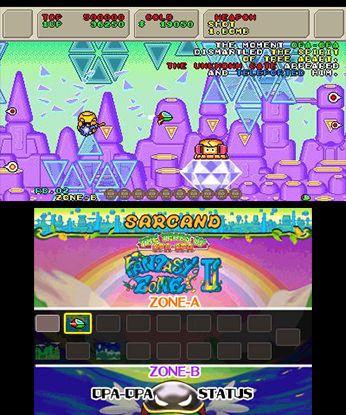 3D Fantasy Zone II W Free eShop Download Code 4