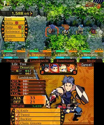 Etrian Mystery Dungeon Free eShop Download Code 3