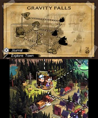 Gravity Falls - Legend of the Gnome Gemulets Free eShop Download Codes 2