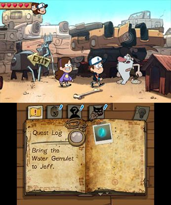 Gravity Falls - Legend of the Gnome Gemulets Free eShop Download Codes 3