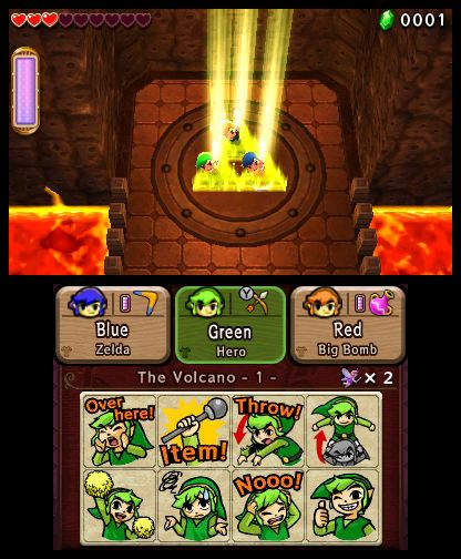 The Legend of Zelda Tri Force Heroes Free eShop Download Codes 3