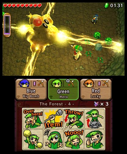 The Legend of Zelda Tri Force Heroes Free eShop Download Codes 4