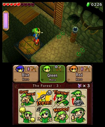 The Legend of Zelda Tri Force Heroes Free eShop Download Codes 5