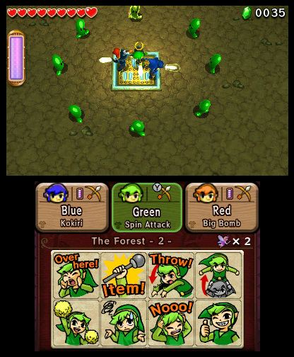 The Legend of Zelda Tri Force Heroes Free eShop Download Codes 6