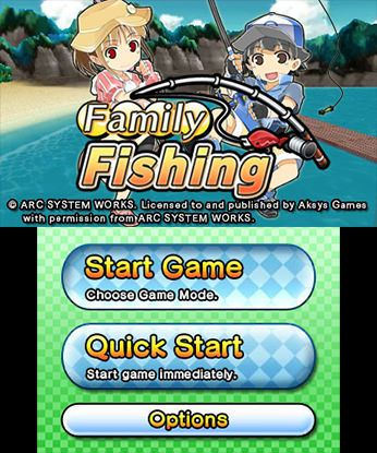 Family Fishing Free eShop Download Codes 3