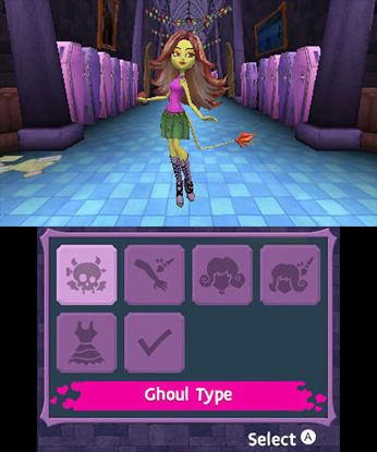 Monster High New Ghoul in School Free eShop Download Codes 3