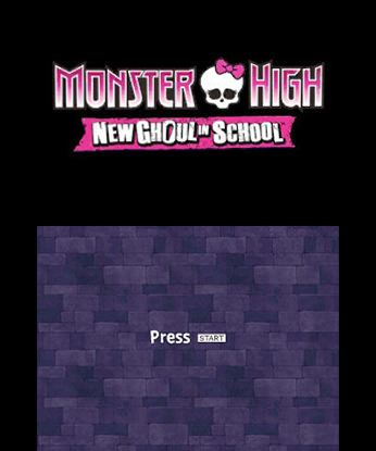 Monster High New Ghoul in School Free eShop Download Codes 4