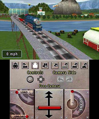 Lionel City Builder 3D Rise of the Rails 3DS Free eShop Download Codes 1