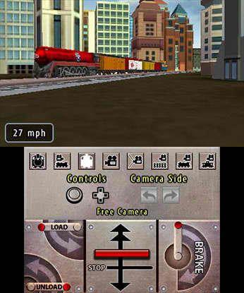 Lionel City Builder 3D Rise of the Rails 3DS Free eShop Download Codes 3