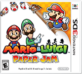 Mario & Luigi Paper Jam Free eShop Download Codes