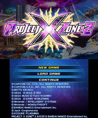 Project X Zone 2 Free eShop Download Codes 4