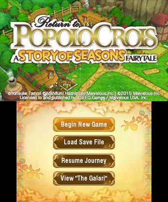 Return to PopoloCrois 3DS Free eShop Download Code 1