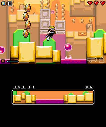 Mutant Mudds Super Challenge Free eShop Download Code 3