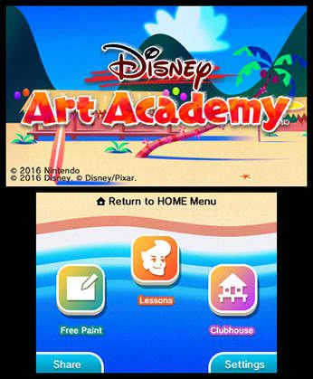 Disney Art Academy Free eShop Download Code 7
