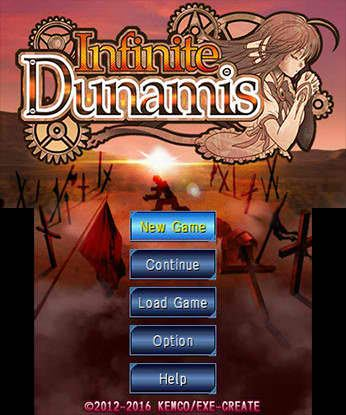 Infinite Dunamis Free eShop Download Code 5