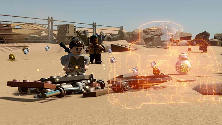 LEGO Star Wars The Force Awakens Free eShop Download Code 1