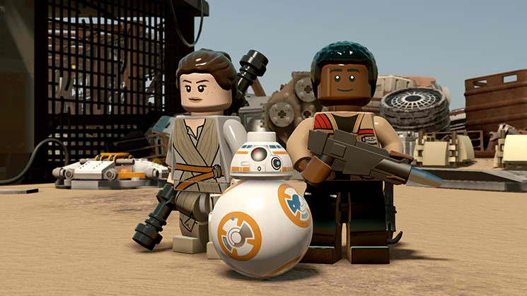 LEGO Star Wars The Force Awakens Free eShop Download Code 2