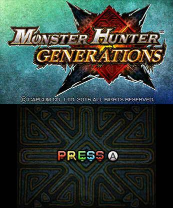Monster Hunter Generations Free eShop Download Code 3