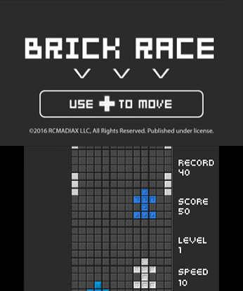 BRICK RACE Free eShop Download Code 2