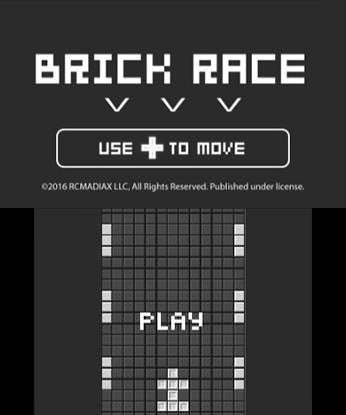 BRICK RACE Free eShop Download Code 3