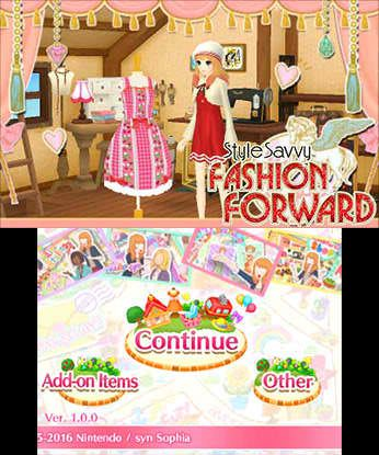 Style Savvy Fashion Forward Free eShop Download Code 2