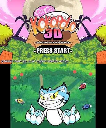 Go! Go! Kokopolo 3D Free eShop Download Code 3