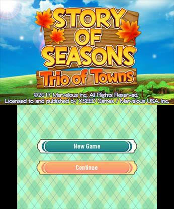 STORY OF SEASONS Trio of Towns Free eShop Download Code 3