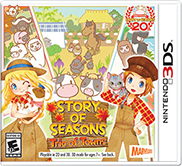 STORY OF SEASONS Trio of Towns Free eShop Download Code
