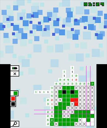 Pic-a-Pix Color Free eShop Download Code 1
