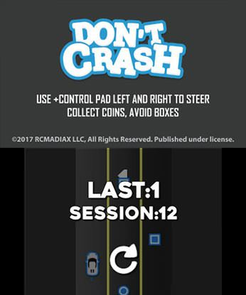 DON'T CRASH GO Free eShop Download Code 1