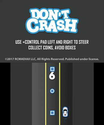 DON'T CRASH GO Free eShop Download Code 2