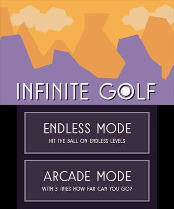 Infinite Golf Free eShop Download Code 3