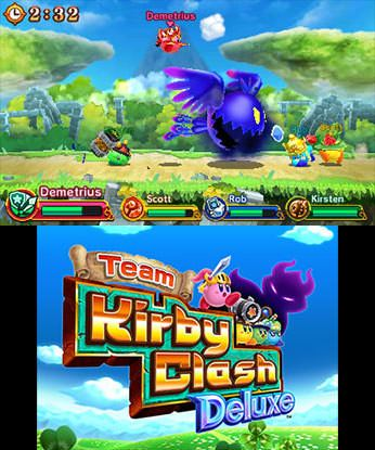 Team Kirby Clash Deluxe Free eShop Download Code 1
