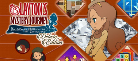 LAYTON'S MYSTERY JOURNEY™: Katrielle and the Millionaires' Conspiracy - Deluxe Edition - Nintendo Switch
